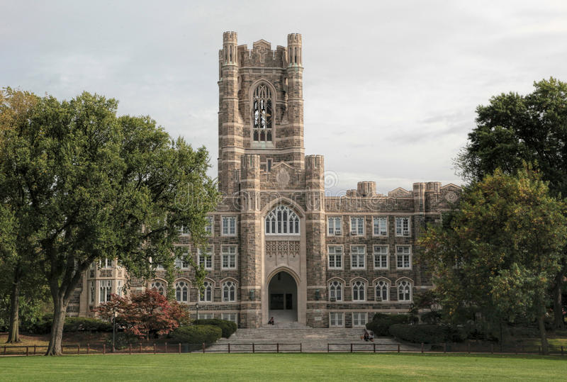 Fordham universitet, Bronx, New York City royaltyfri bild