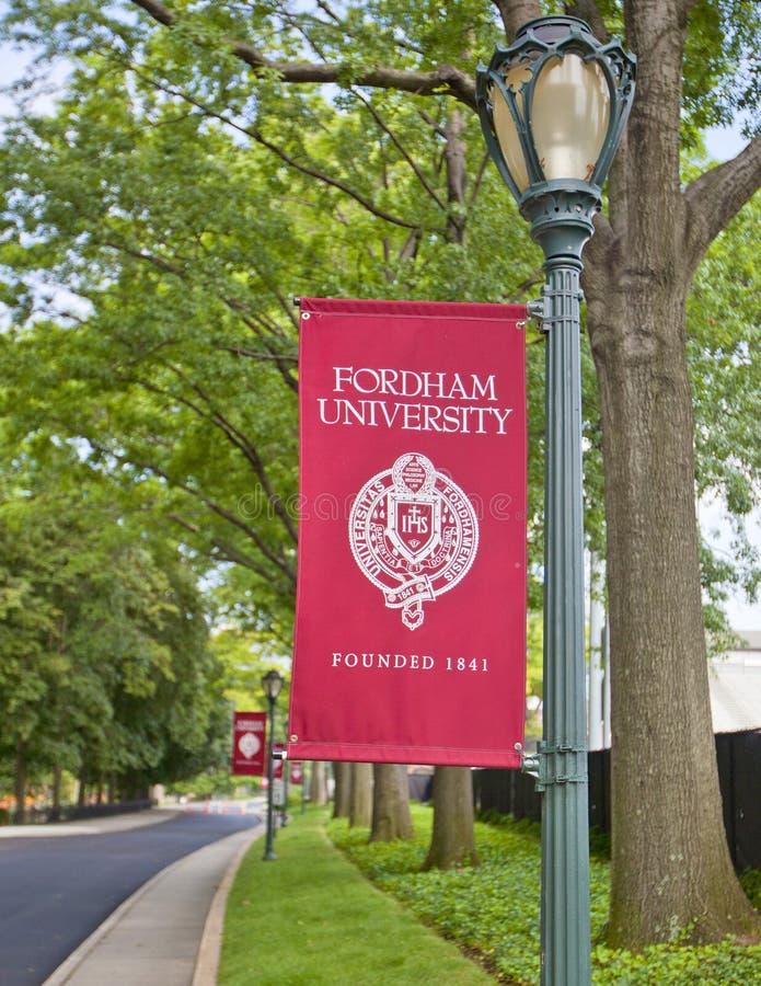 Fordham uniwersytet zdjęcia stock