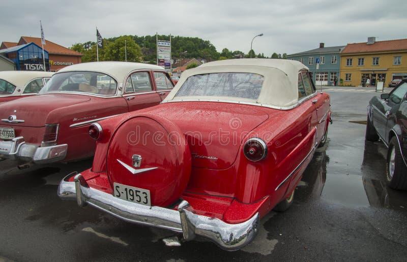 1953 fordomatic convertibili di crestline di guado fotografia stock