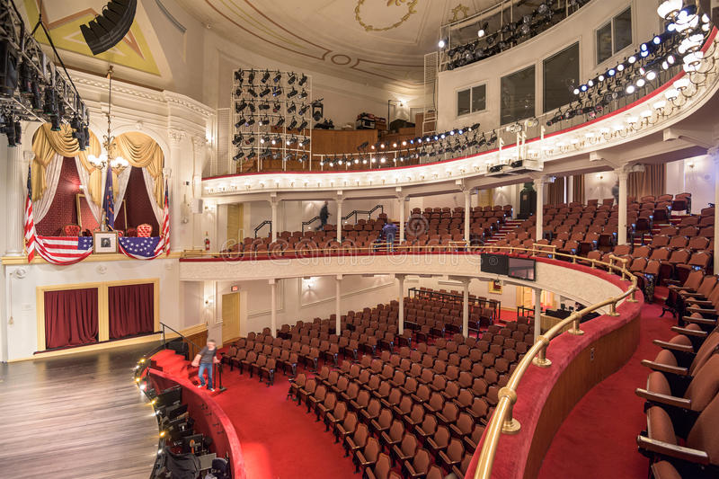 Fords Theater lizenzfreie stockbilder