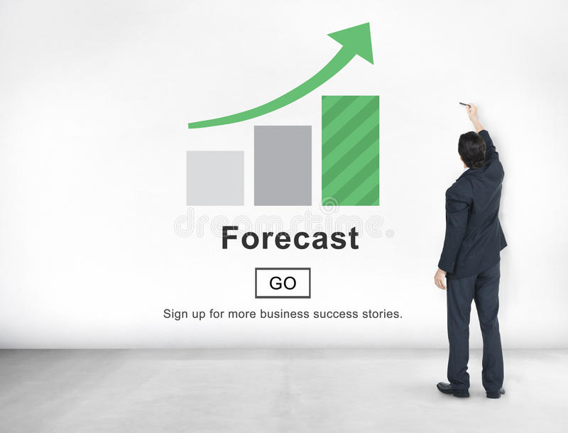 Forecast prediction future plan strategy online concept for Future planner online