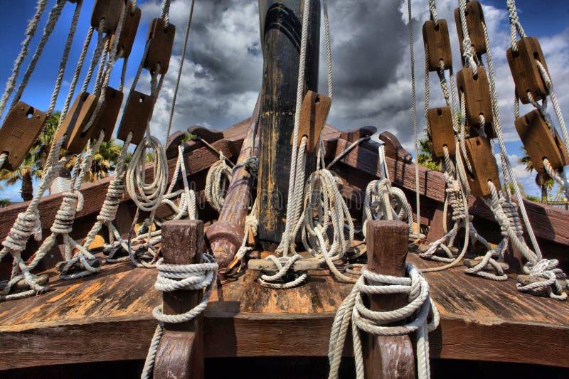Forecastle Caravel стоковая фотография rf