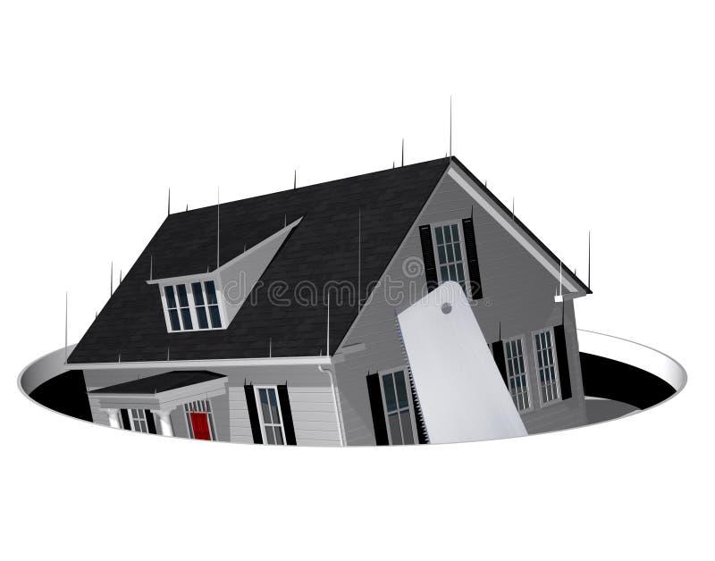 Foreclosed ilustracja wektor