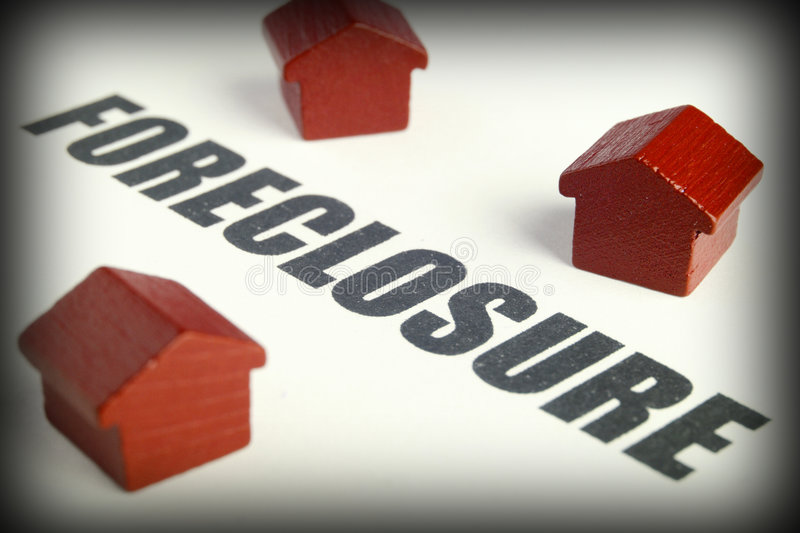 Foreclosure royalty free stock image