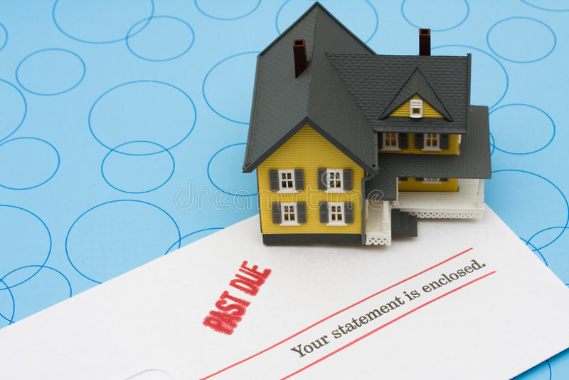 Foreclosure royalty free stock photos
