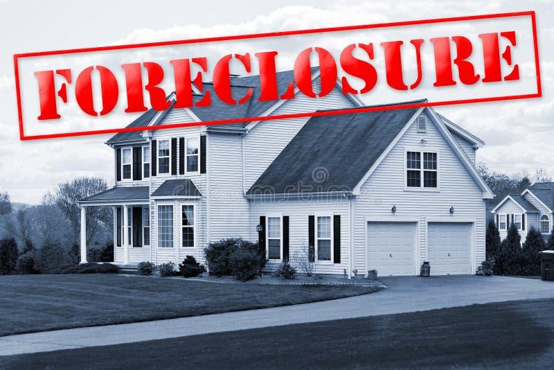 foreclosure dom zdjęcie stock
