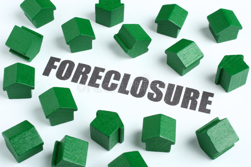 Foreclosure Real Estate Concept Royalty Free Stock Photos