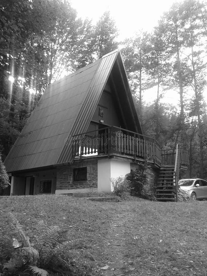 Foredt-Haus stockbild