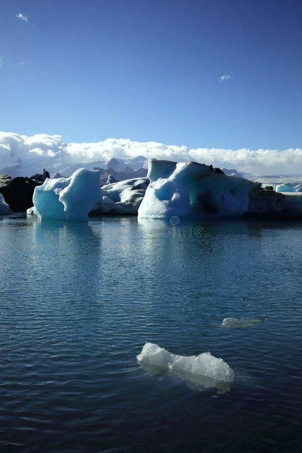 Foreground iceberg royalty free stock image