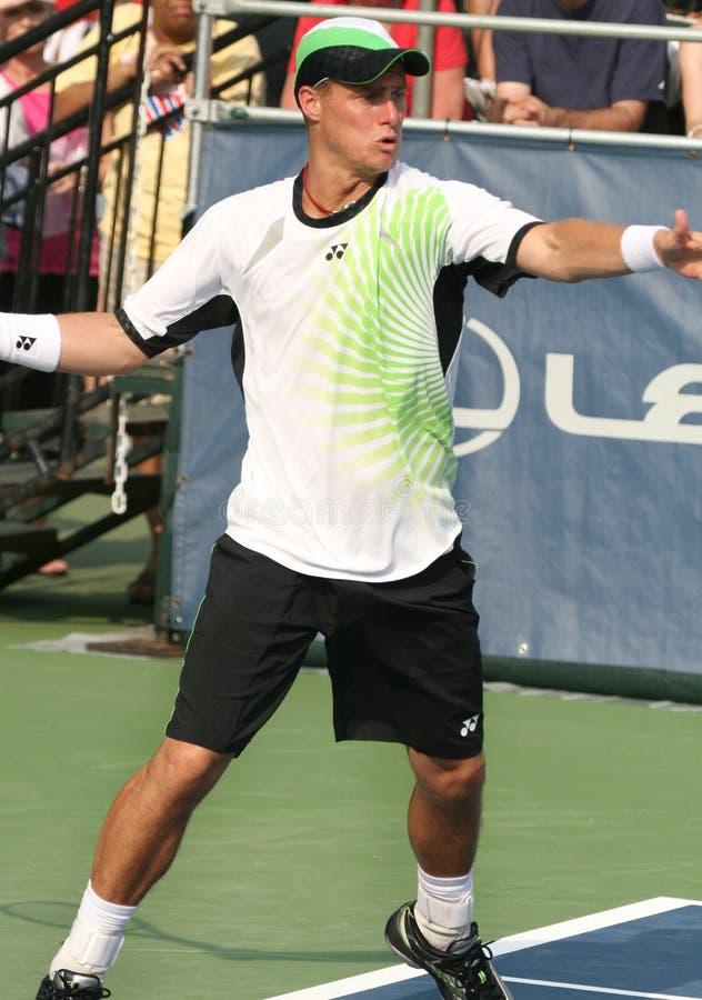 forehanda hewitt gracza fachowy tenis obraz stock