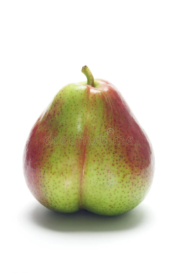 Forelle Pear. On White Background royalty free stock image