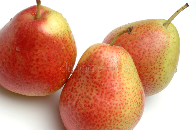 Download FORELLE Pears On White Royalty Free Stock Photography - Image: 505497