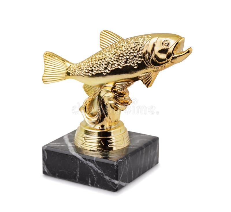 Forellenfischentrophäe stockfoto