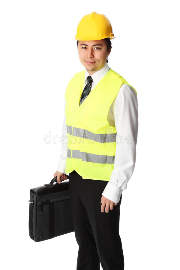 Foreman, on the job royalty free stock images