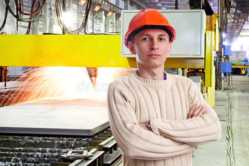Download Foreman in the workshop stock photo. Image of male, adult - 23436812