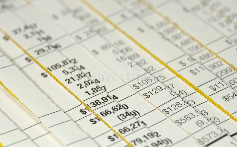 Forensic Accounting royalty free stock photo
