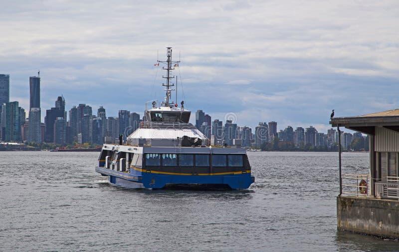 Forenzenveerboot in Vancouver stock fotografie