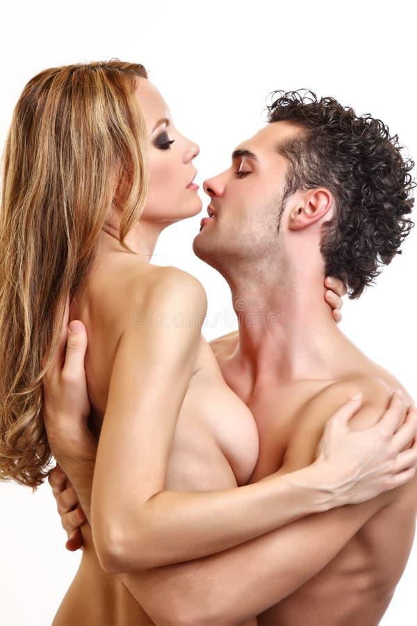 Download Foreplay De Um Par Apaixonado Despido Foto de Stock - Imagem de considerável, paixão: 16858574