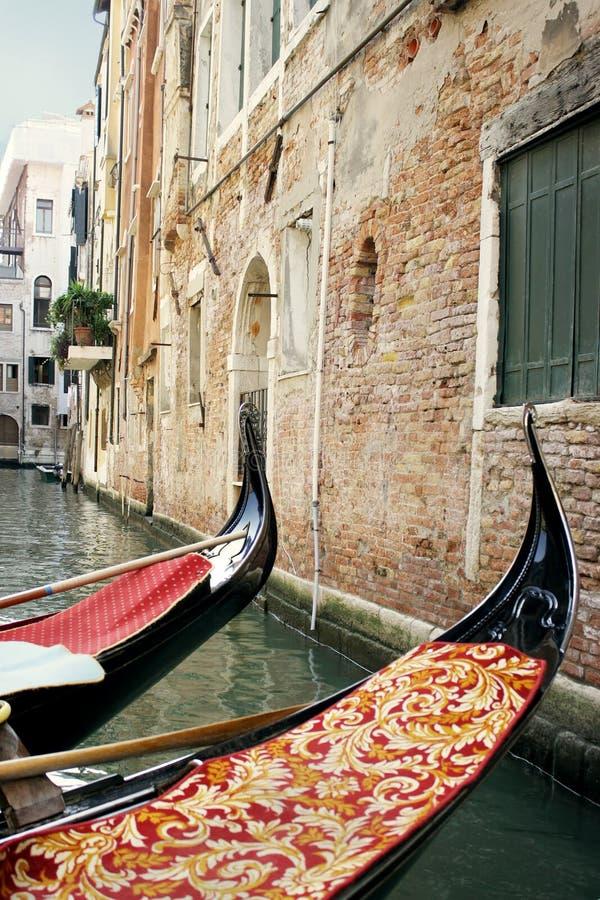 Foreshorting en Venecia imagenes de archivo