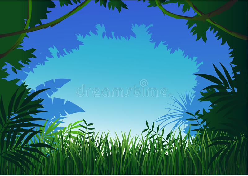 Download Forest stock vector. Image of forest, colorful, background - 14553625