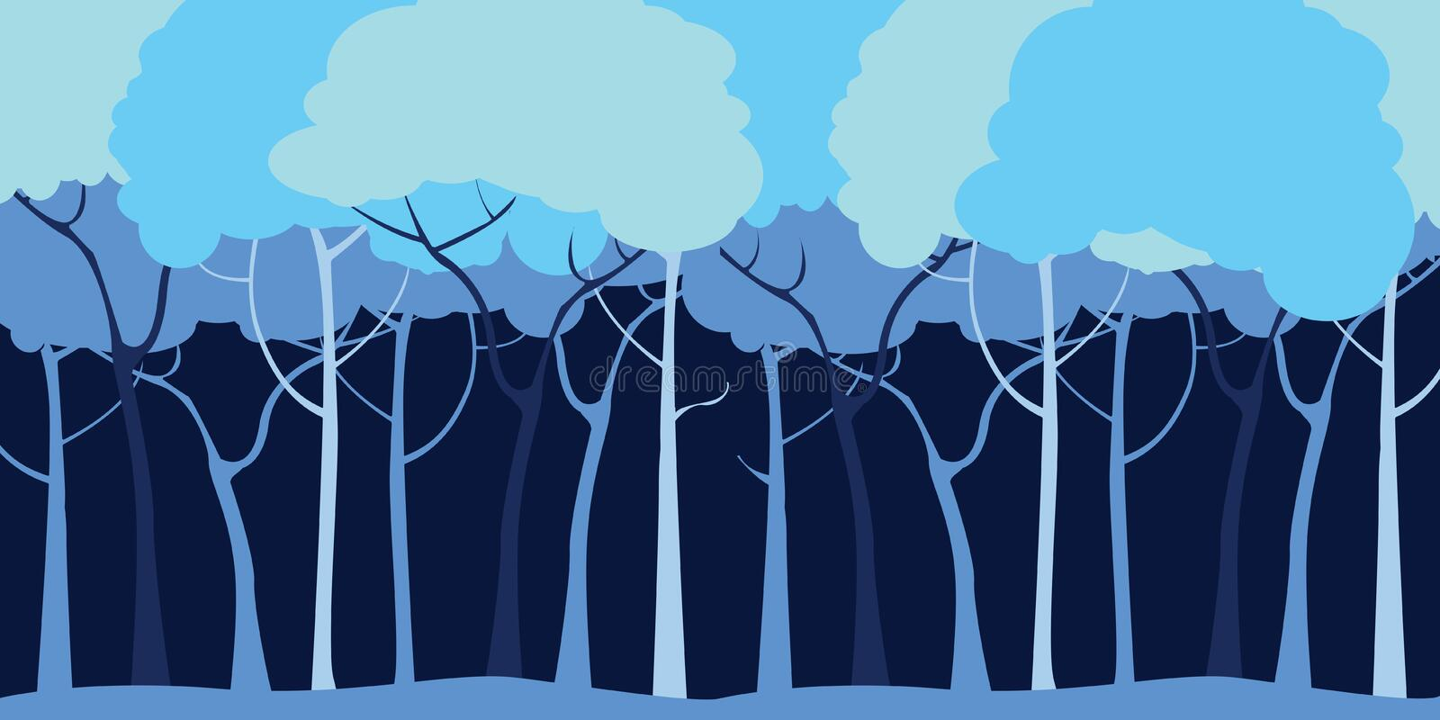 Download Forest Background Royalty Free Stock Photography - Image: 12814477