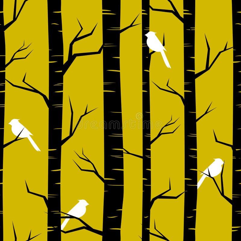 Forest Background astratto illustrazione di stock