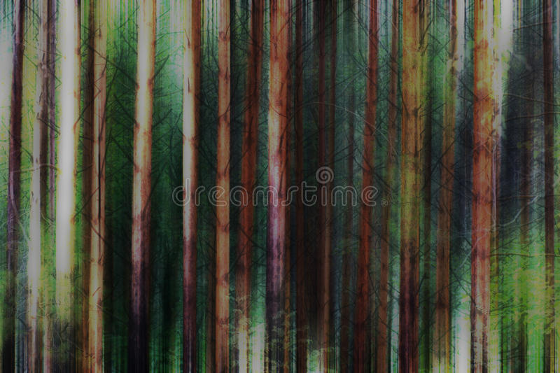 Forest royalty free illustration