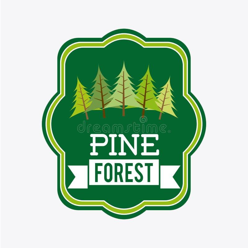 Download Forest Design ilustración del vector. Ilustración de botánica - 42427250