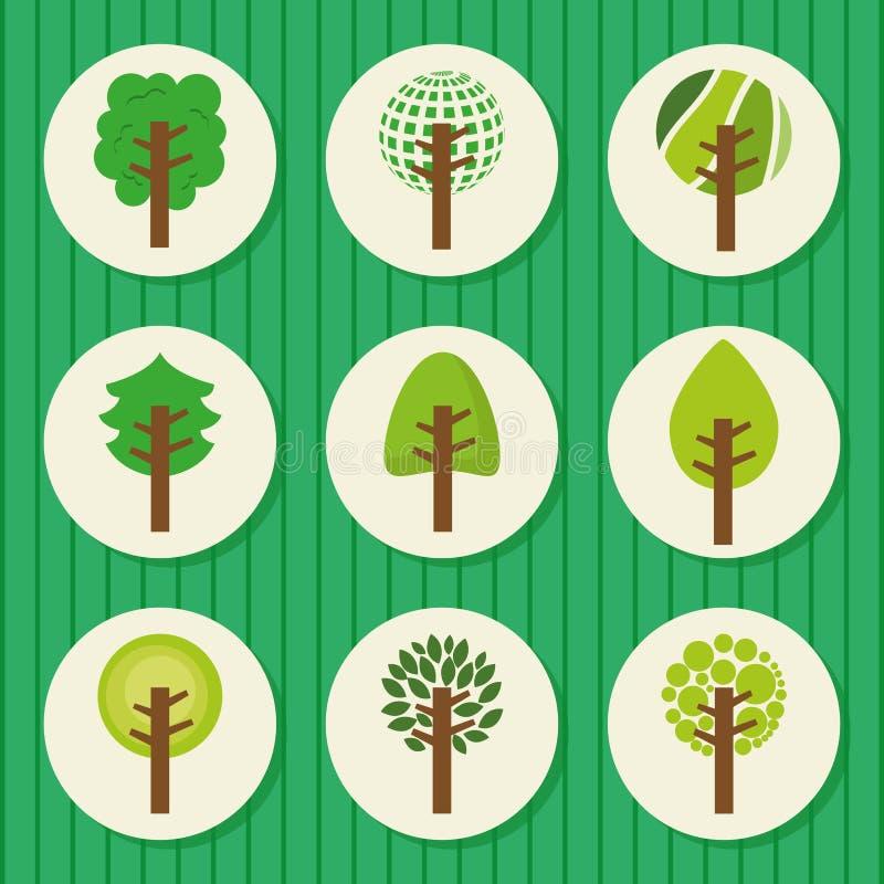 Download Forest Design ilustración del vector. Ilustración de caída - 42427300