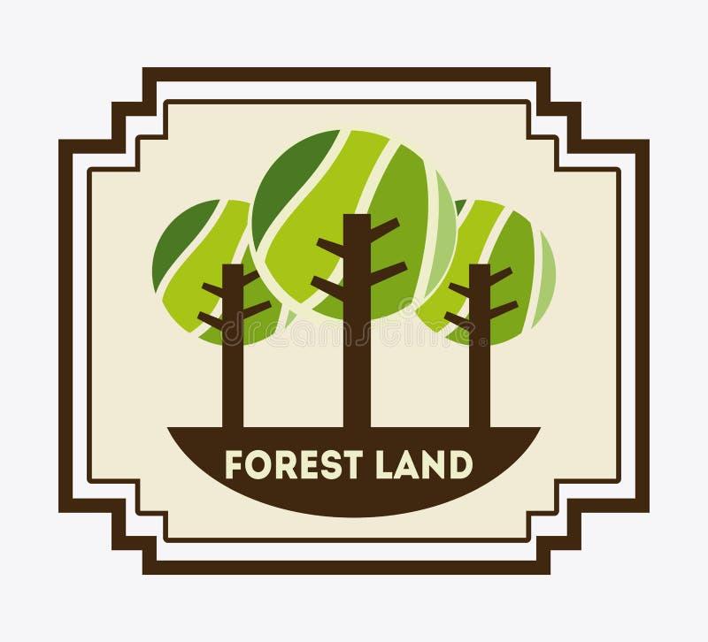 Download Forest Design ilustración del vector. Ilustración de ecología - 42427338