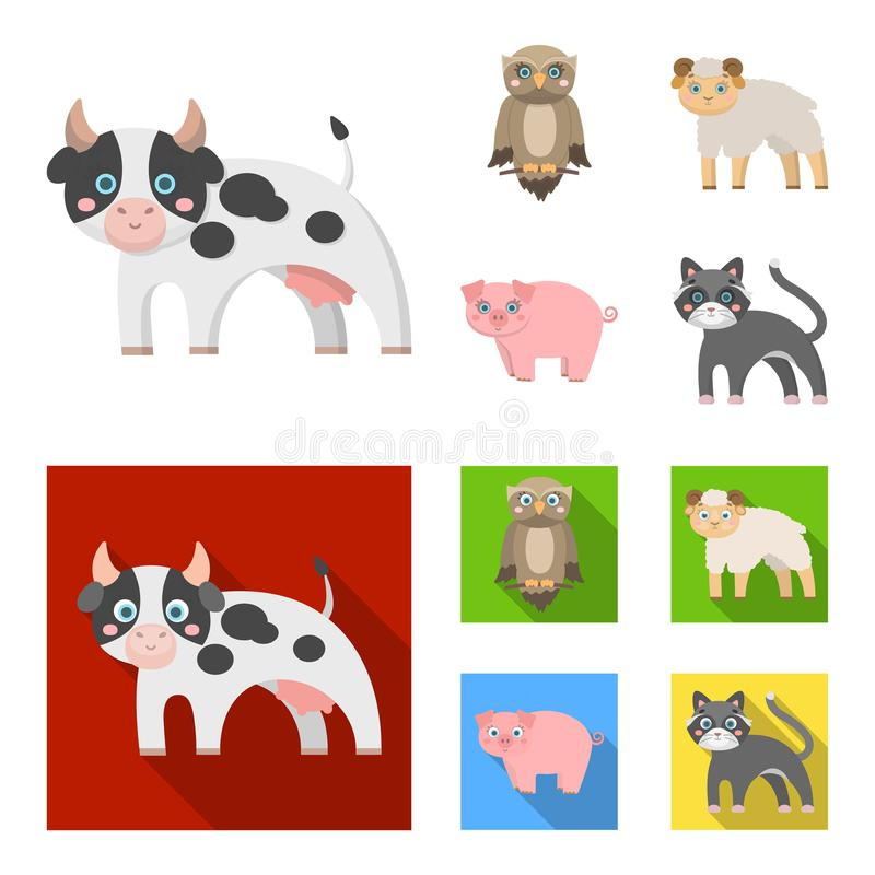 Forest, ecology, toys and other web icon in cartoon,flat style.Animals, farm, enterprises icons in set collection. Forest, ecology, toys and other icon in vector illustration