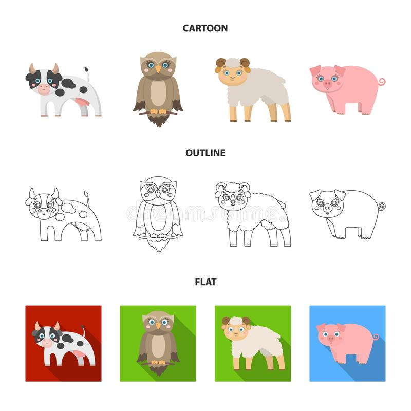Forest, ecology, toys and other web icon in cartoon,outline,flat style.Animals, farm, enterprises icons in set. Forest, ecology, toys and other icon in cartoon vector illustration