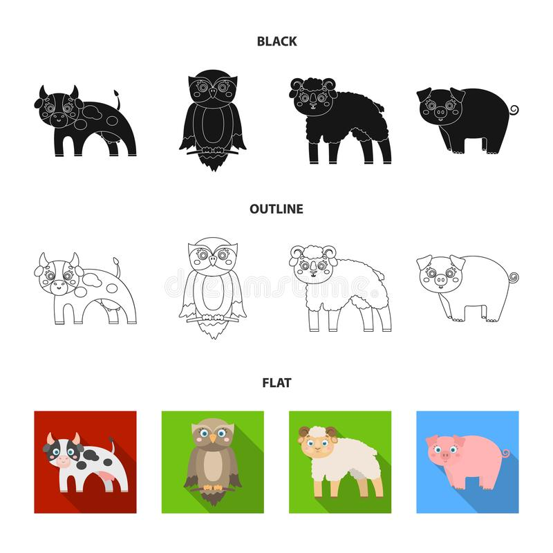Forest, ecology, toys and other web icon in cartoon style.Animals, farm, enterprises icons in set collection. Forest, ecology, toys and other icon in cartoon vector illustration