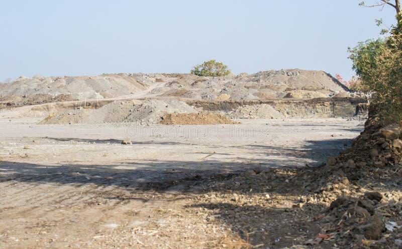 Forest Encroachment Indore Madhya Pradesh lizenzfreies stockfoto