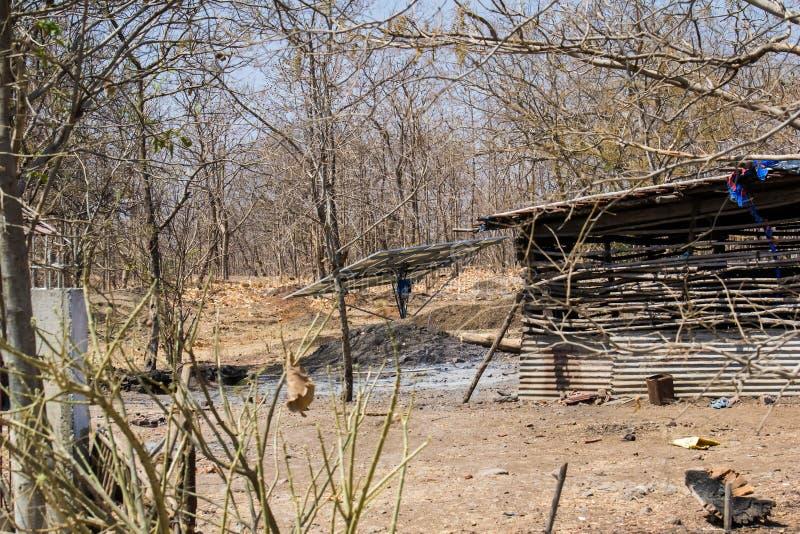 Forest Encroachment Indore Madhya Pradesh foto de archivo libre de regalías