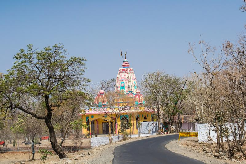 Forest Encroachment Indore Madhya Pradesh royaltyfri fotografi