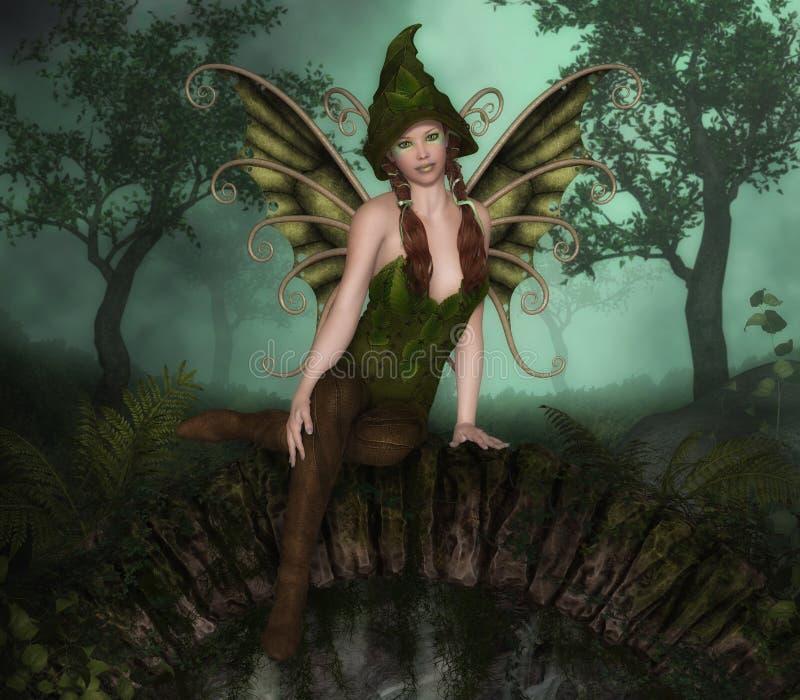 Forest Fairy illustrazione vettoriale