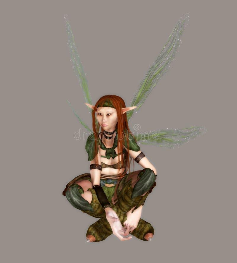 Download Forest Fairy stock illustration. Image of girl, feminine - 5220883