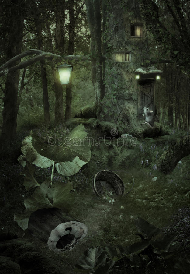Forest Fairy Tale imagens de stock royalty free