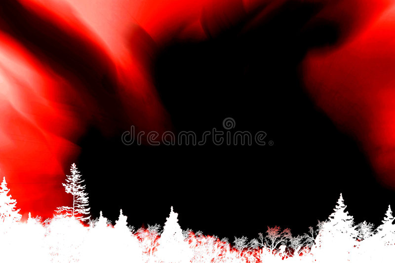 Forest Fire. Abstract background design image vector illustration