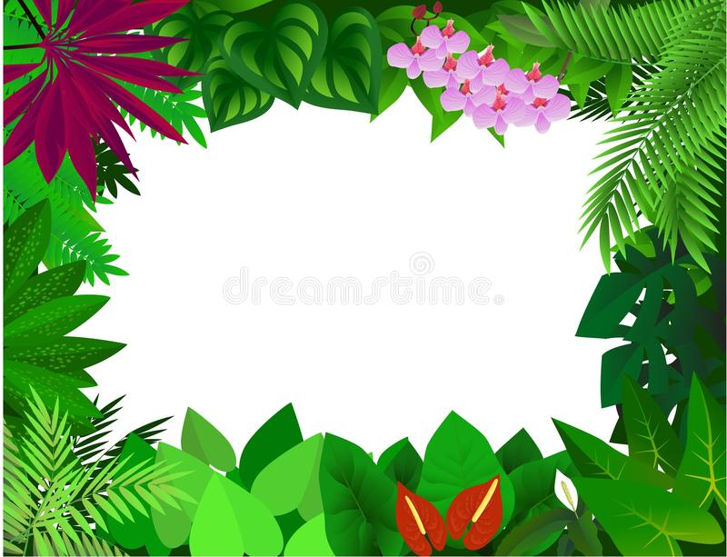 Forest Frame Royalty Free Stock Image