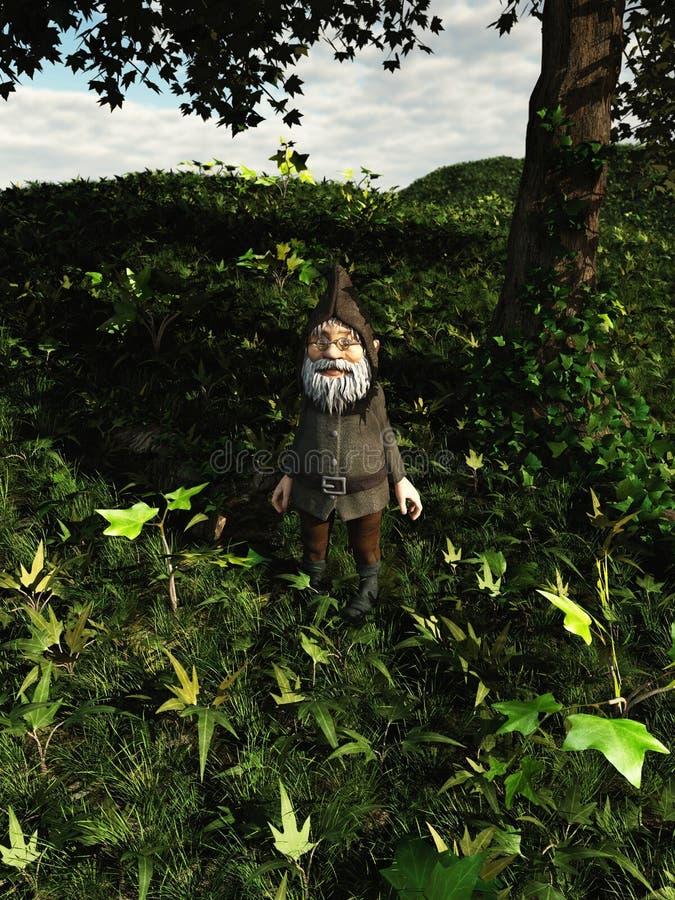Forest Gnome royalty-vrije illustratie