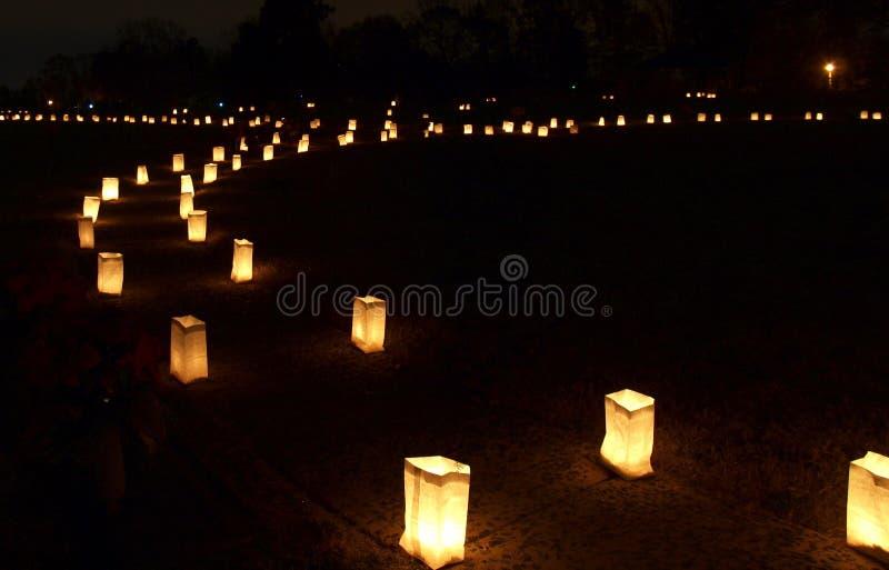 Forest Hill Luminaries lizenzfreies stockfoto
