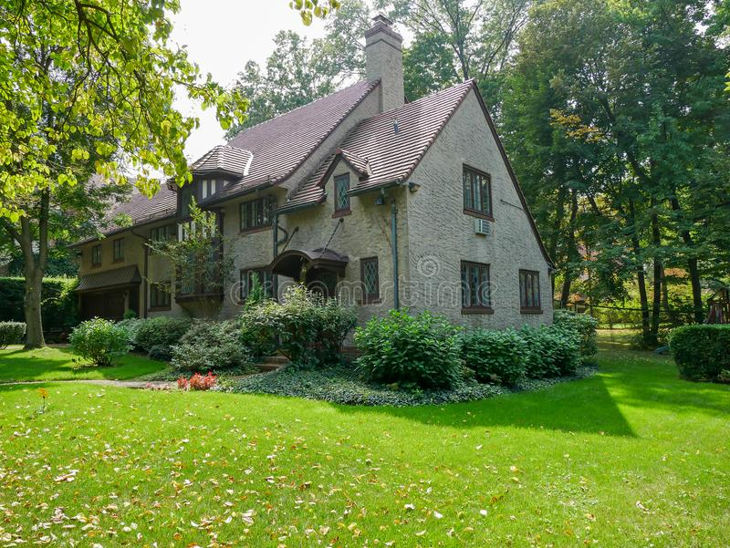 Forest Hills residential neighborhood royalty free stock photos