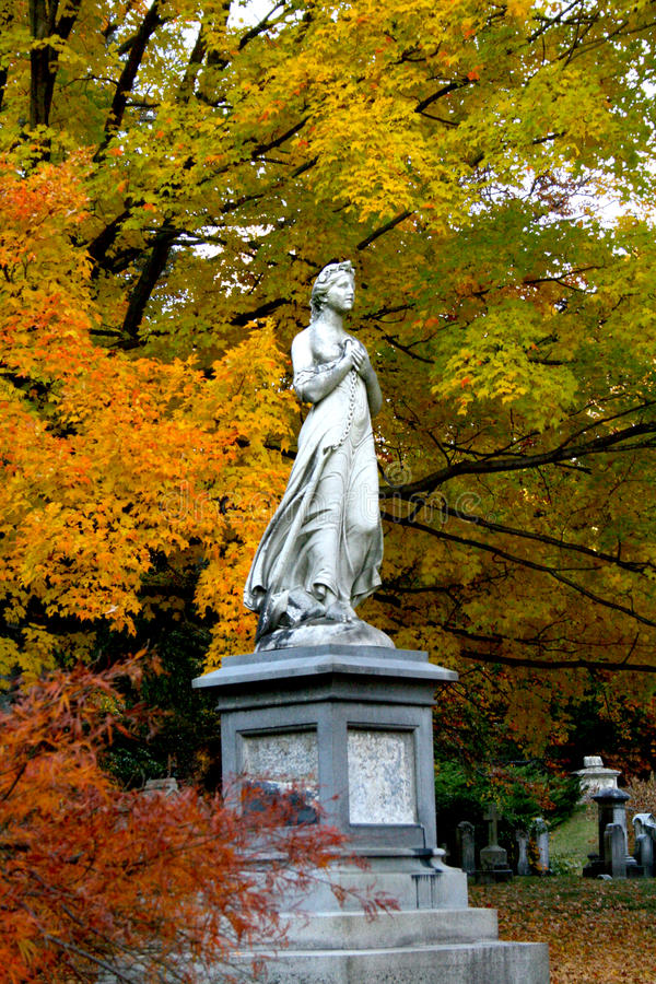 Forest Hills Statue photo stock