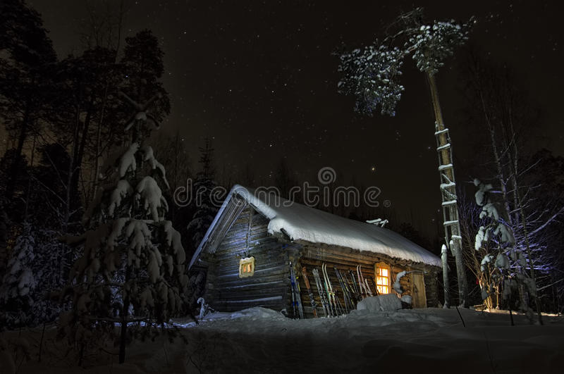 Download Forest House stock photo. Image of christmas, home, cosiness - 24004606