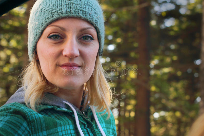 Forest Lady royalty free stock photography