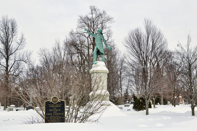 Forest Lawn Cemetery royaltyfri bild