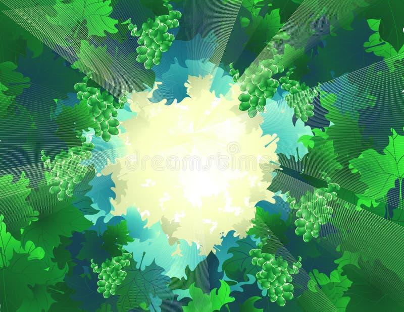 Forest_lights illustrazione vettoriale
