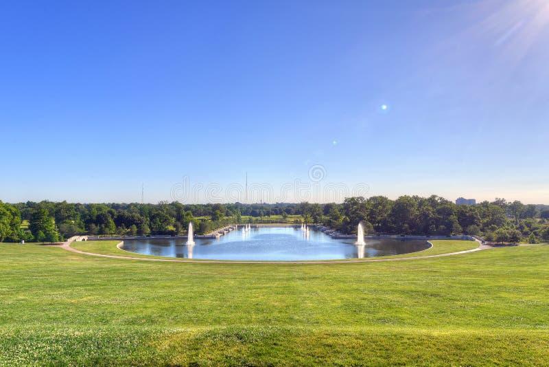 Forest Park του Σαιντ Λούις στοκ εικόνες